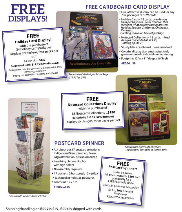 Whole | Free Card Displays