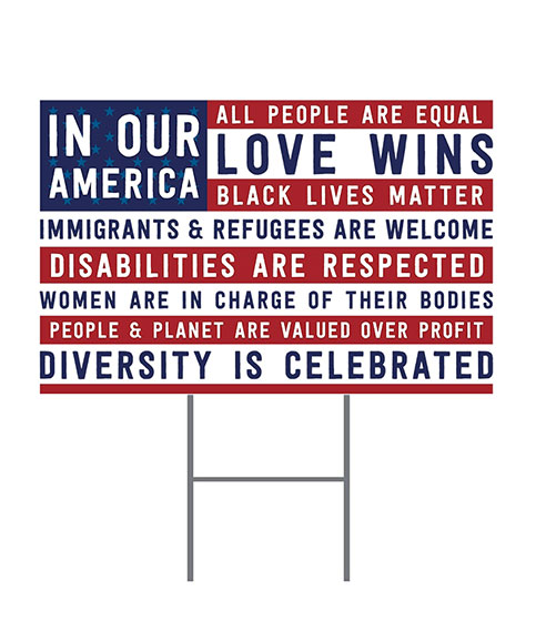 in our america yard sign - 492×570