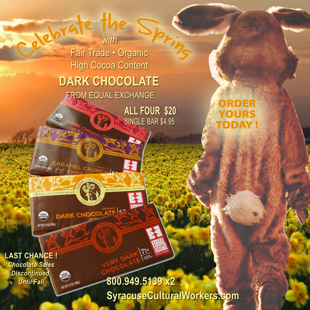 Fair Trade Chocolate Treats for Spring and Easter