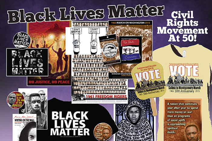 Fight Racism - #BlackLivesMatter and Civil Rights Movement at 50