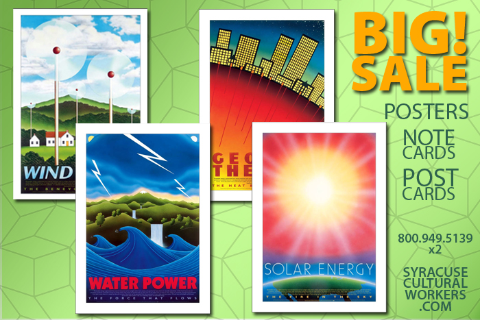 35–50% Off Renewable Energy Posters, Notecards and Postcards