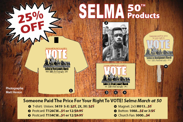 Someone paid the price for your right to vote! Honor civil rights movement history on this 50th anniversary of historic march from Selma to Montgomery, and keep the struggle going.