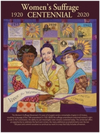 Women's Suffrage Centennial products