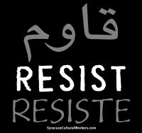 Resist t-shirt design