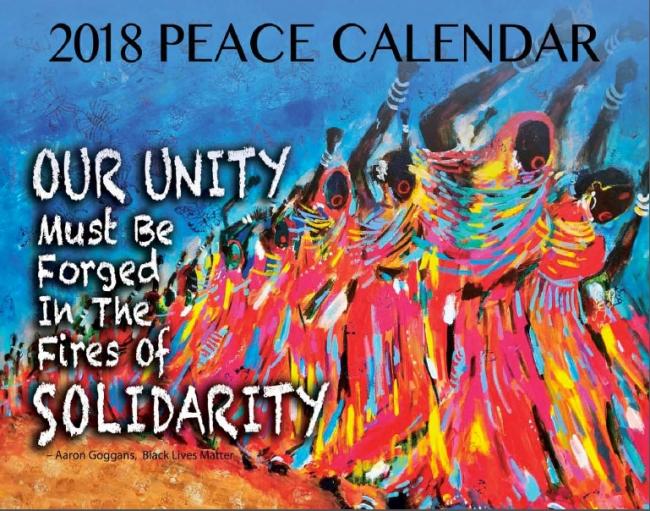 Calendar   2018 Peace Calendar | Syracuse Cultural Workers