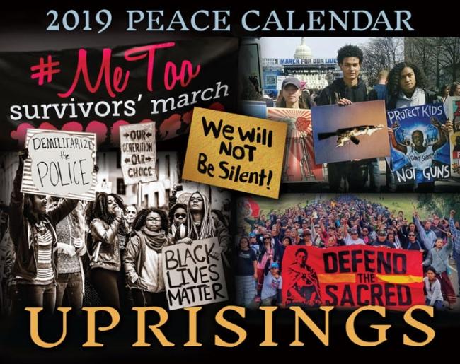 Syracuse Calendar.2019 Peace Calendar Syracuse Cultural Workers