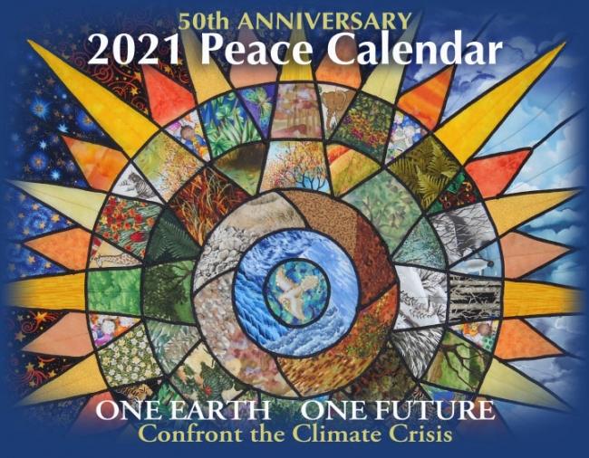 2021 Peace Calendar Cover