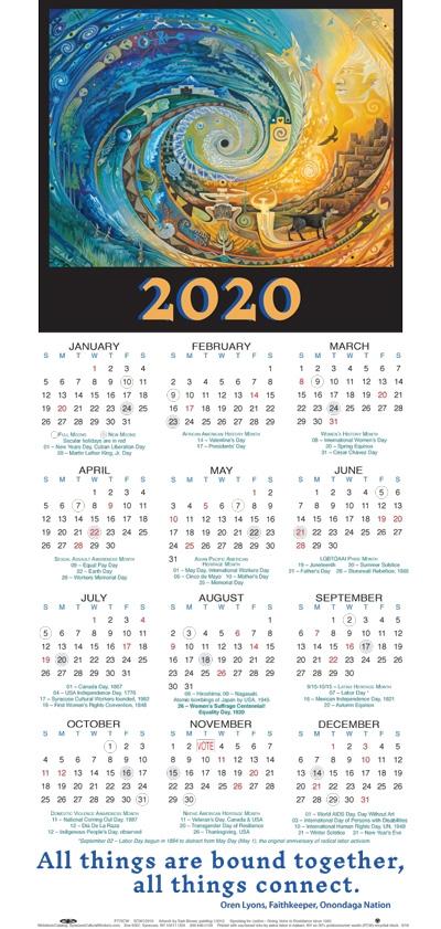 Syracuse University Fall 2020 Calendar.Poster Calendar 2020 Poster Calendar Syracuse Cultural