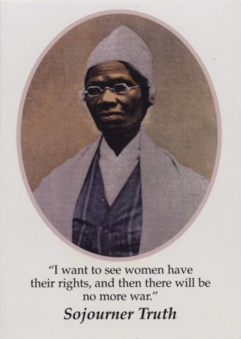 "the speeches of sojourner truth and their impact on america Analysis of ""aint i a woman"" maria b perry appalachian state university in sojourner truth's speech that she sojourner plays even more on their."