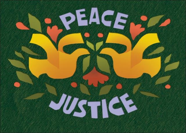 Holiday card peace justice syracuse cultural workers holiday card peace justice m4hsunfo
