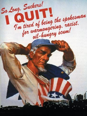 postcard i quit uncle sam syracuse cultural workers