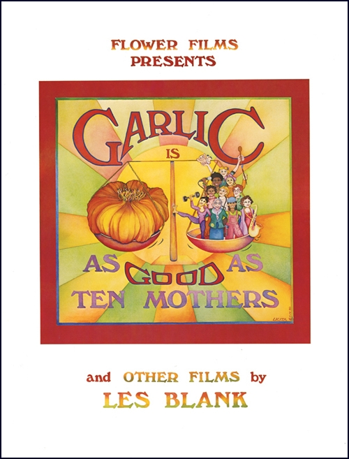 Poster - Garlic Is As Good As Ten Mothers | Syracuse Cultural Workers