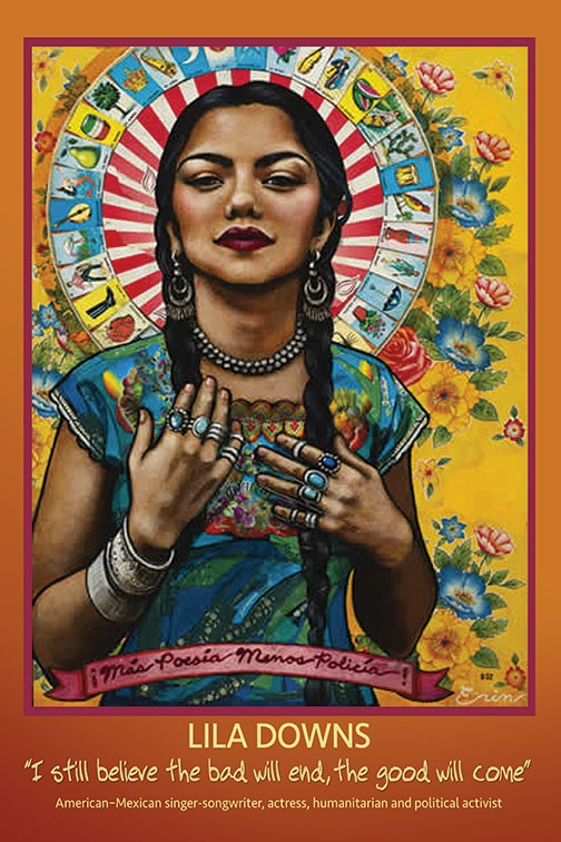 Poster Lila Downs Syracuse Cultural Workers