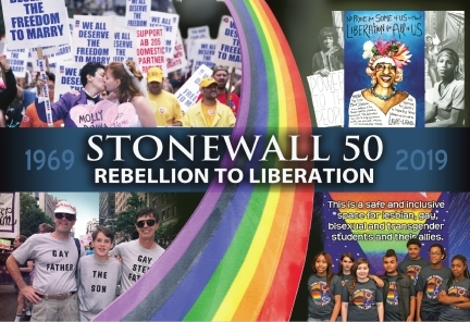 Stonewall at 50 poster