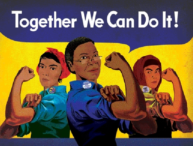 poster together we can do it syracuse cultural workers