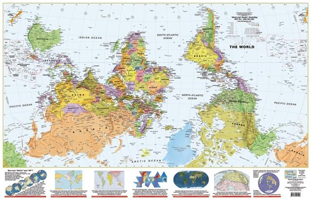 Syracuse World Map
