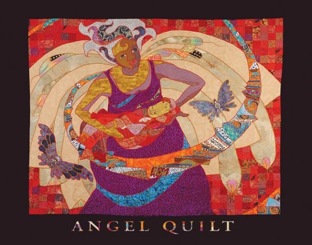 Poster - Angel Quilt | Syracuse Cultural Workers : quilt posters - Adamdwight.com